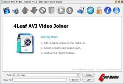 4Leaf AVI Video Joiner