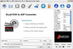 4Leaf DVD to ASF Converter