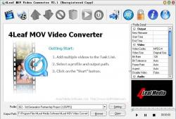 4Leaf MOV Video Converter