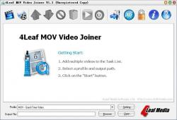 4Leaf MOV Video Joiner