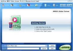 5Star MPEG Video Joiner