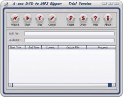A-one DVD to MP3 Ripper