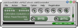 Advanced MP3/WMA Recorder