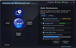 Advanced Windows Care 3