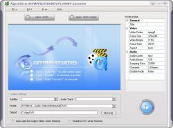 Aigo DVD to AVI/MPEG/XVID/MOV/FLV/WMV Converter