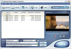 Aimersoft DVD to Apple TV Converter