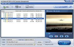 Aimersoft DVD to PSP Converter