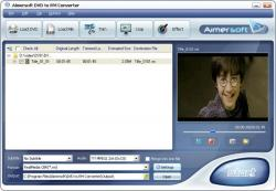 Aimersoft DVD to RM Converter