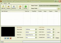 All Video to SWF and FLV Converter