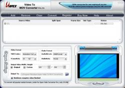 Apex Video To MOV Converter