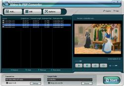 Daniusoft Video to PSP converter
