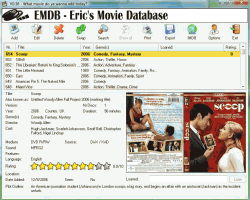 Eric's Movie DataBase