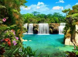 Free Living Waterfalls 3 Screensaver
