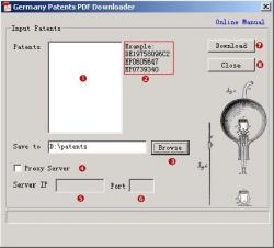 Germany Patents PDF Downloader