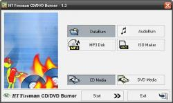 HT Fireman CD/DVD Burner