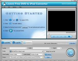 Leawo Free DVD to iPod Converter