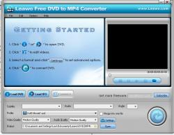 Leawo Free DVD to MP4 Converter