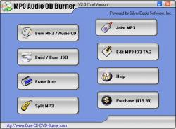 MP3 Audio CD Burner