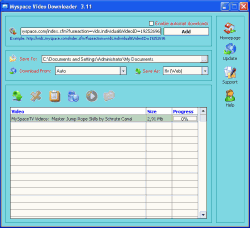 Myspace Video Downloader