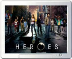NBC's Heroes Screen Saver