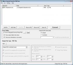 free program convert excel to pdf