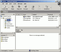 Outlook Express (MS Windows Mail)