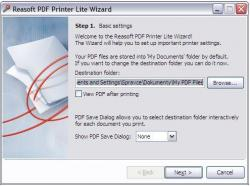ReaSoft PDF Printer Lite