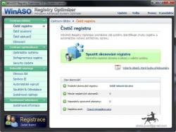 WinASO Registry Optimizer čeština
